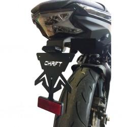 Chaft Kennzeichenhalter - Kawasaki Ninja 650 // Z650