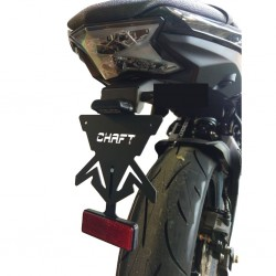 Support de plaque Chaft - Kawasaki Ninja 650 // Z650