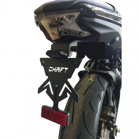 Chaft license plate holder - Kawasaki Ninja 650 // Z650