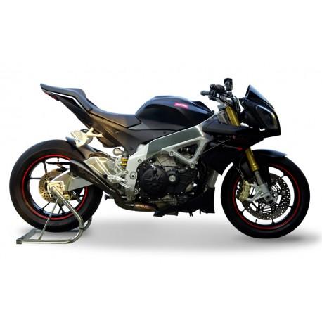 Exhaust Hpcorse Hydroform black - Aprilia Tuono V4R 09-15