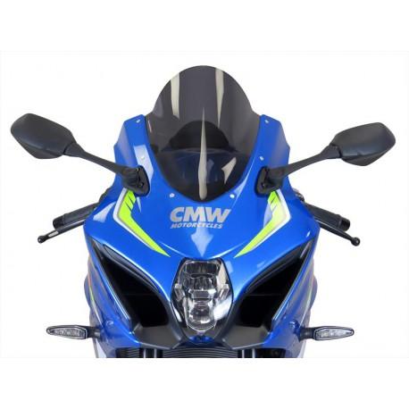 Bulle Powerbronze double courbures fumé claire Suzuki GSX-R 1000 17 / +