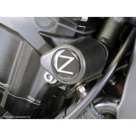Powerbronze Crash Post Blocks Black - Kawasaki Z900
