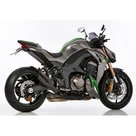Echappement Hurric Pro2 noir Kawasaki Z1000 10-18 / Z1000 R 17-18 / Z1000 SX 11-18