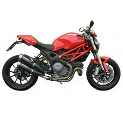 Echappement Spark Evo5 Carbon - Ducati Monster 1100 EVO 11-14