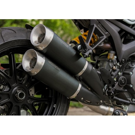 Echappement Spark Evo5 Dark Style - Ducati Monster 1100 EVO 11-14