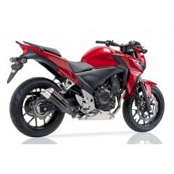Auspuff Ixil Dual Hyperlow schwarz für Honda CB 500 FA // CBR 500 R 16-18 (PC57/58)