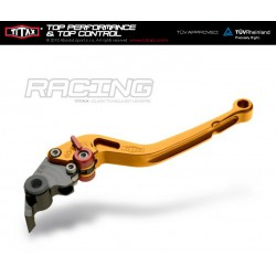 Levier de frein Titax Racing Normal Jaune R22