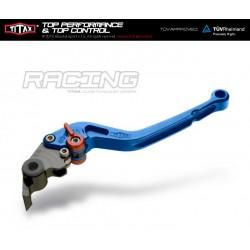 Levier de frein Titax Racing Normal Bleu R22