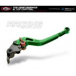 Levier de frein Titax Racing Normal Green R22