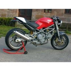 Auspuff Spark Round Low mounting für Ducati Monster 600 / 900 94-99