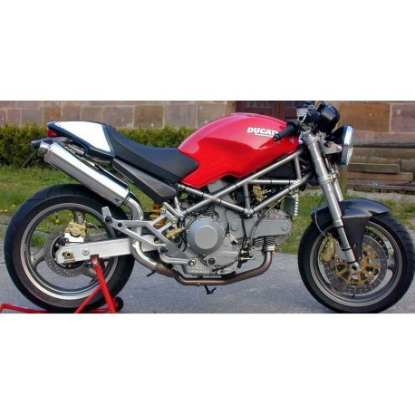 Exhaust Spark Round High Mounting For Ducati Monster 600 900 94 99