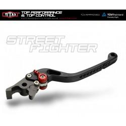 Levier de frein Titax Streetfighter Normal Noir R22