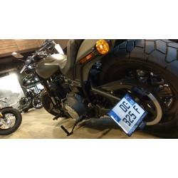 Accessdesign Seitenplattenhalter für Harley Davidson FFXFBS Fat Bob 107 / 114