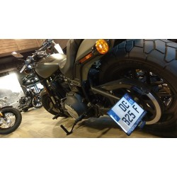 Support de plaque latéral Accessdesign pour Harley Davidson FXFBS Fat Bob 107 / 114