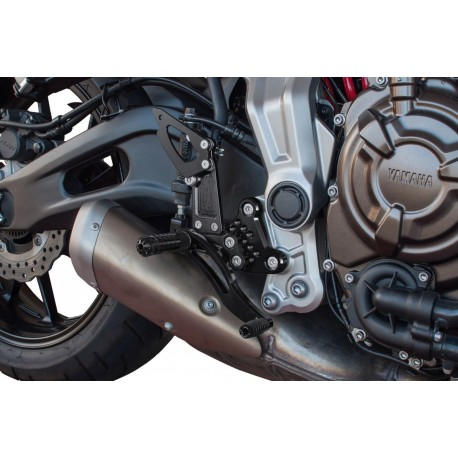Fussrastenanlage Bonamici Racing for Yamaha MT-07 14/+